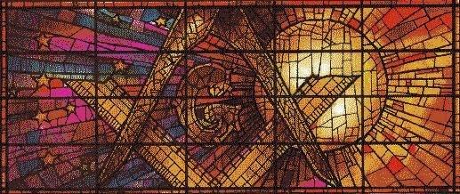 squadra e compasso mosaico